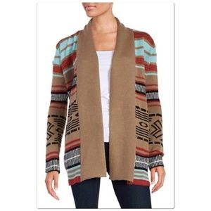 BB Dakota Southwestern Open Cardigan M